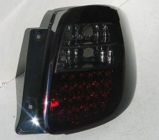 Фото 3 - Фонари задние для Suzuki SX4 '06-14, LED, красно-черные (ASP)