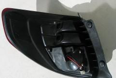 Фото 4 - Фонари задние для Suzuki SX4 '06-14, LED, красно-черные (ASP)