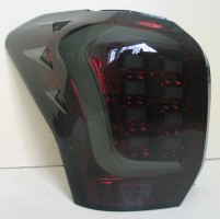 Фото 2 - Фонари задние для Subaru Forester '13-18, LED, тонированный хром (ASP)