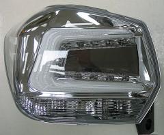 Фото 2 - Фонари задние для Subaru XV '11-16, LED, хром прозрачный (ASP)