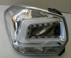 Фото 3 - Фонари задние для Subaru XV '11-16, LED, хром прозрачный (ASP)