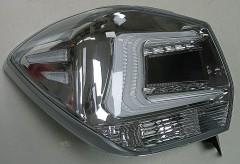 Фото 4 - Фонари задние для Subaru XV '11-16, LED, хром прозрачный (ASP)