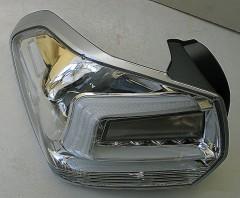 Фото 5 - Фонари задние для Subaru XV '11-16, LED, хром прозрачный (ASP)
