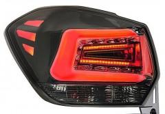 Фото 1 - Фонари задние для Subaru XV '11-16, LED, хром тонированный (ASP)