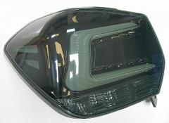 Фото 2 - Фонари задние для Subaru XV '11-16, LED, хром тонированный (ASP)