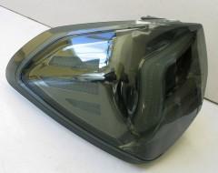 Фото 3 - Фонари задние для Subaru XV '11-16, LED, хром тонированный (ASP)