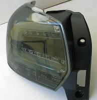 Фото 4 - Фонари задние для Subaru XV '11-16, LED, хром тонированный (ASP)
