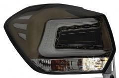 Фото 1 - Фонари задние для Subaru XV '11-16, LED, черные тонированные (ASP)