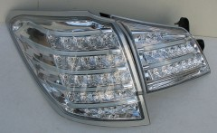 Фото 3 - Фонари задние для Subaru Outback '09-14, LED, хром BR9 (ASP)