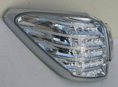 Фото 4 - Фонари задние для Subaru Outback '09-14, LED, хром BR9 (ASP)