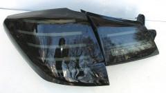 Фото 3 - Фонари задние для Subaru Outback '09-14, LED, тонированный хром BR9 (ASP)