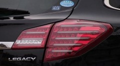 Фото 1 - Фонари задние для Subaru Outback '09-14, LED, тонированные красные BR9 (ASP)