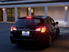 Фото 2 - Фонари задние для Subaru Outback '09-14, LED, тонированные красные BR9 (ASP)