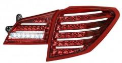 Фото 3 - Фонари задние для Subaru Outback '09-14, LED, тонированные красные BR9 (ASP)