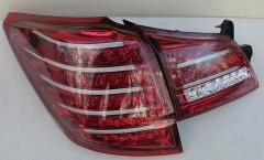 Фото 4 - Фонари задние для Subaru Outback '09-14, LED, тонированные красные BR9 (ASP)