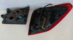 Фото 5 - Фонари задние для Subaru Outback '09-14, LED, тонированные красные BR9 (ASP)