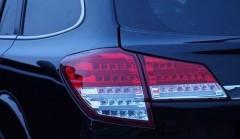 Фото 1 - Фонари задние для Subaru Outback '09-14, LED, красные BR9 (ASP)