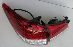 Фото 4 - Фонари задние для Subaru Outback '09-14, LED, красные BR9 (ASP)