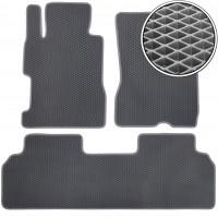 Коврики в салон для Honda Civic 4D '06-12, EVA-полимерные, серые (Kinetic)