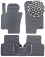 Коврики в салон для Volkswagen Tiguan '07-16, EVA-полимерные, серые (Kinetic)
