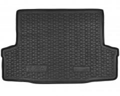 Коврик в багажник для Chevrolet Aveo '04-06 T200 Седан, резиновый (AVTO-Gumm)