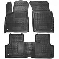 Коврики в салон для Audi Q8 '18- резиновые, черные (AVTO-Gumm)