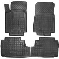 Коврики в салон для Great Wall Hover / Haval H6 '18- резиновые, черные (AVTO-Gumm)