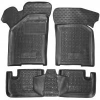 Коврики в салон для Lada (Ваз) 21099 '90-11 резиновые, черные (AVTO-Gumm)