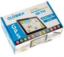 Фото 9 - Автомобильный навигатор Globex GE711