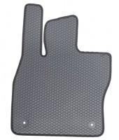 Коврик в салон водительский для Volkswagen Golf VII '12-, EVA-полимерные, серые с черной тесьмой (Kinetic)