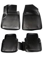 Коврики в салон для MG 6 '10- полиуретановые, черные (L.Locker)