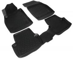 Коврики в салон для Opel Astra J '09-, универсал, полиуретановые, черные (L.Locker)