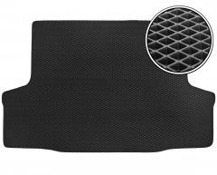 Коврик в багажник для Chevrolet Aveo '03-06 седан, EVA-полимерный, черный (Kinetic)