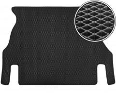 Коврик в багажник для Daewoo Nexia '95-16, EVA-полимерный, черный (Kinetic)
