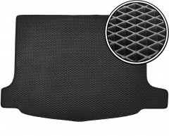 Коврик в багажник для Honda Civic 5D '06-12, EVA-полимерный, черный (Kinetic)