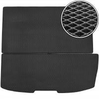 Коврик в багажник для Honda Pilot '08- (длинный), EVA-полимерный, черный (Kinetic)