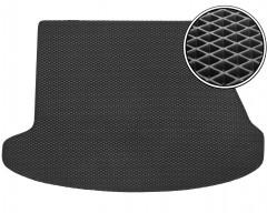 Коврик в багажник для Hyundai i30 FD '07-12 универсал, EVA-полимерный, черный (Kinetic)