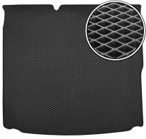 Kinetic Коврик в багажник для Hyundai Ioniq '16-, с сабвуфером, EVA-полимерный, черный (Kinetic)