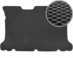 Kinetic Коврик в багажник для Hyundai Matrix '01-10, EVA-полимерный, черный (Kinetic)