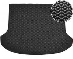 Коврик в багажник для Kia Sorento '10-15 XM (7 мест), EVA-полимерный, черный (Kinetic)