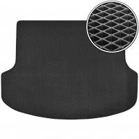Коврик в багажник для Kia Sorento '13-15 XM (5 мест), EVA-полимерный, черный (Kinetic)