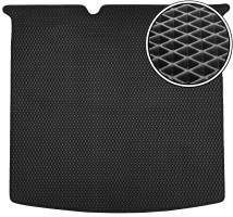 Коврик в багажник для Skoda Fabia III '15- универсал, EVA-полимерный, черный (Kinetic)