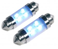 Автомобильные светодиодные лампочки Ring C5W 12V (комплект: 2шт)