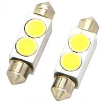Автомобильные светодиодные лампочки Ring High Power C5W 12V (комплект: 2шт)