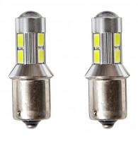 Автомобильные светодиодные лампочки Ring Long Life R5W 12V (комплект: 2шт)