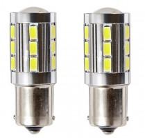 Автомобильные светодиодные лампочки Ring Premium P21W 12V (комплект: 2шт)
