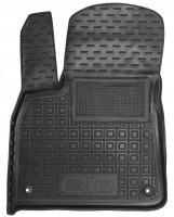 Коврик в салон водительский для Audi Q8 '18- резиновые, черные (AVTO-Gumm)