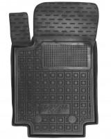 Коврик в салон водительский для Great Wall Hover / Haval H6 '18- резиновые, черные (AVTO-Gumm)