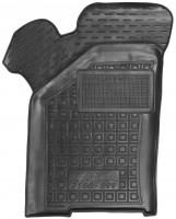 Коврик в салон водительский для Lada (Ваз) 21099 '90-11 резиновые, черные (AVTO-Gumm)