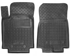 Коврики в салон передние для Great Wall Hover / Haval H6 '18- резиновые, черные (AVTO-Gumm)